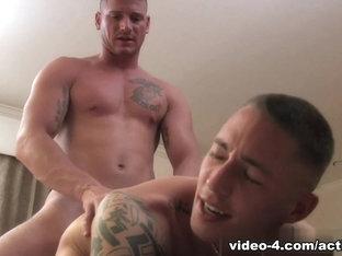 Damien, Kaden, Randy & Thomas Military Porn Video