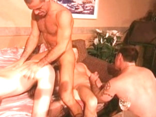 Incredible male pornstars Sebastian Long, Bryce Denem and Nick Stone in exotic bears, rimming homo.