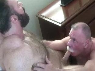 Beefy Body Builders Sweaty Wrestling