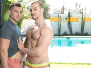 Johnny Riley & Blake Hunter in Pool Side Lovers - NextDoorStudios