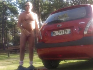 Fabulous gay clip with Hunk, Outdoor scenes