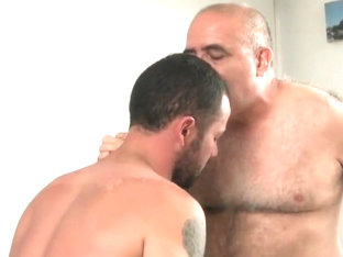Hottest amateur gay video with Young/Old, Blowjob scenes