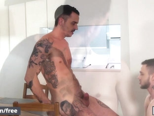 Men.com - Jason Wolfe and Stig Andersen - Broken Hearted Part 2 - Drill My Hole