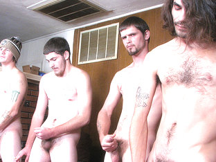 Devin Instigates A Contest With The Guys - Devin Reynolds Lex Lane - StraightNakedThugs