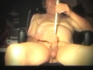 man straight sounding urethral dildo crossdresser sissy toy