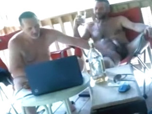Str8 friends partying on cam