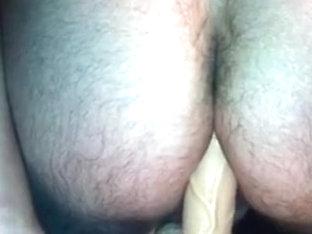 Riding my dildo and cuming hard