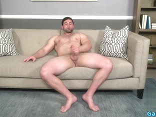 Big dick gay rimjob and cumshot