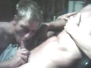 Boyfrend Sucks Chap Pecker On Web Camera