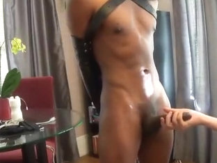 Big Black Cock's edging, multiple cum Part 1