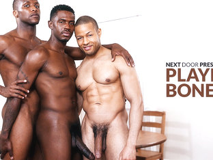 Krave Moore & Andre Donovan & Rex Cobra in Playing Bones XXX Video