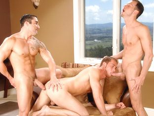 Samuel O'Toole & Kyle Quinn & Connor Maguire in Dick By The Foot XXX Video