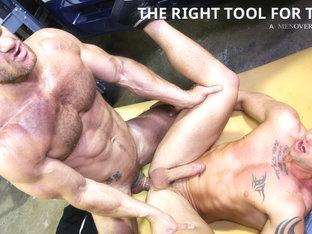 Landon Conrad & Matt Hart in The Right Tool For The Job Video