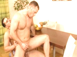 Amazing male pornstar in crazy tattoos, blowjob homosexual xxx scene