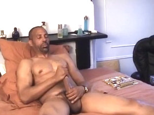 Hung Black Stud Long Danger Shows Off His Immense Dick