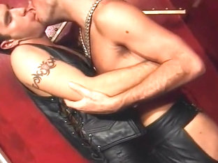 Intense Leather Anal In Private Sex Club