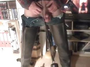 nlboots - rubber (bata) waders - weights