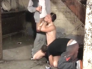 Guy Gets Threeway Domination Session