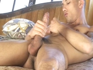 Best male pornstar Lucien Dickson in exotic tattoos, masturbation homosexual xxx video