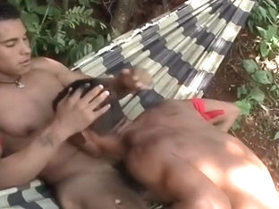 Homo Latino Hunks Fuck In The Bush