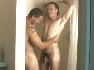 Playing jointly in the shower