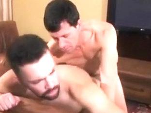Bareback fucking a hairy ass