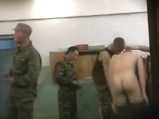 REAL Russian army cadets '������' showers