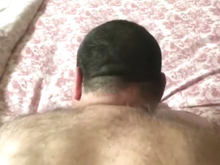 Daddy bear loves dick in his hairy ass
