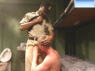 GAY GROUP FUCK IN PRISON