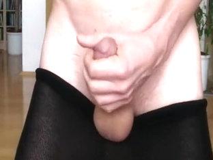 Hose, petite socks and cum