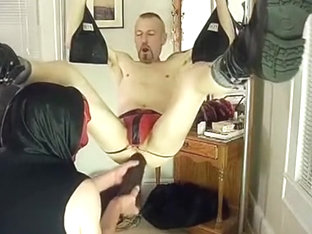 Scary ****Daddy Fist and Toy Session!