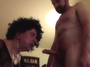 facefucking and breeding a crossdresser cumdump