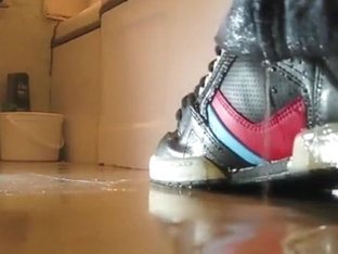 Sneaker and Jeans Piss Compilation (3)