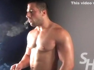 hot smoking men