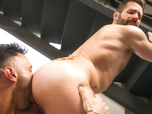 Dani Robles & Flex in Office Dreams Part 1 - TheGayOffice