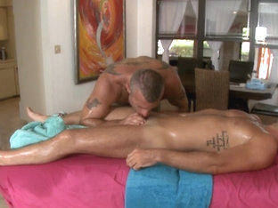 Steamy hot anal drilling