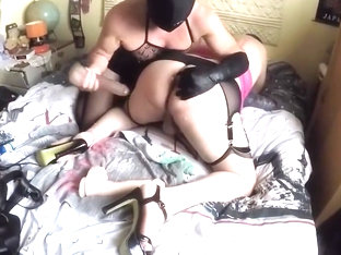 Sissy fucked and used with toys