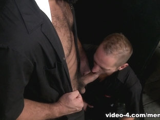 Trey Turner & Dek Reckless in Remodel My Ass Video - MenOver45