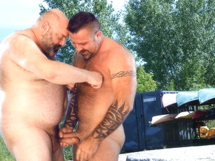 Marc Angelo and Tristant Riant - BearFilms