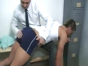 swimmer guy gets spanked