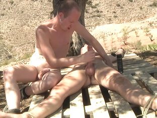 Tied Down For A Frotting Wank! - Charley Cole  Sean Taylor - Boynapped