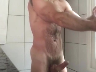 delicios hairy  man