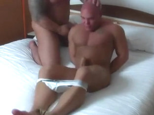 Handgag domination