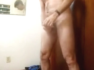 Beating the out of my cock and tasting my balls