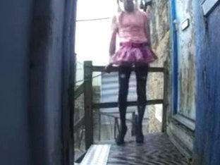 Samantha outdoors