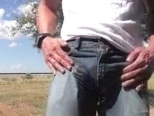 Roadside Jeans Wetting