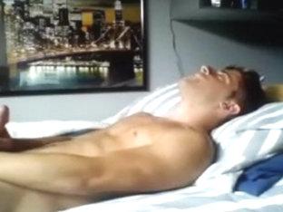 Fucking Hot Gay Boy Fucks His Ass,Cums On Cam