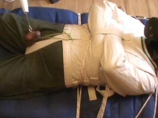 In the straitjacket