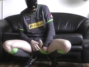 Rubber Mask and Soccer Kit