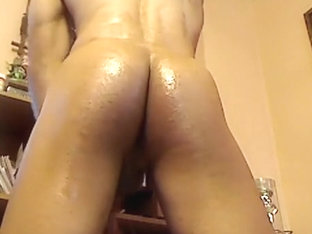 Hot Oiled Ass and Cum